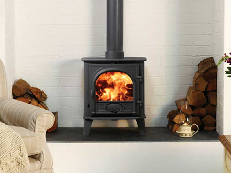 Stand alone wood burning stoves